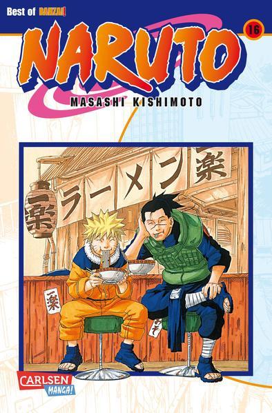 Naruto 16 als Buch