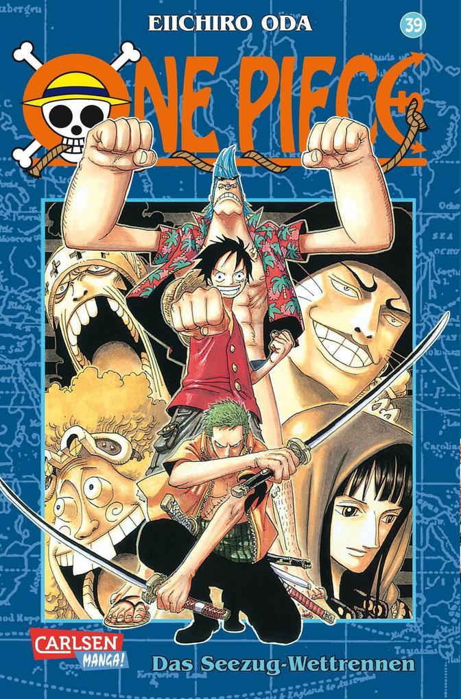 One Piece 39. Das Seezug-Wettrennen als Buch