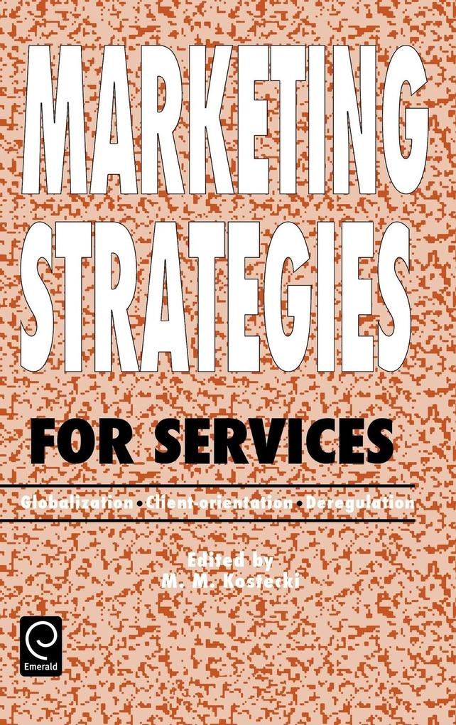 Marketing Strategies for Services als Buch