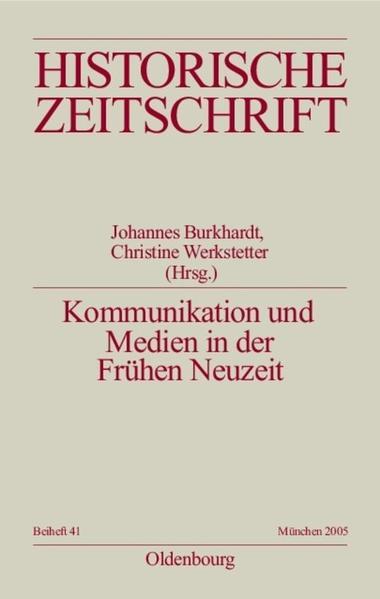 Kommunikation und Medien in der Frühen Neuzeit als Buch
