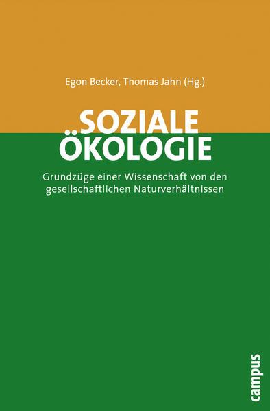 Soziale Ökologie als Buch