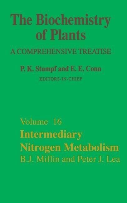Intermediary Nitrogen Metabolism als Buch