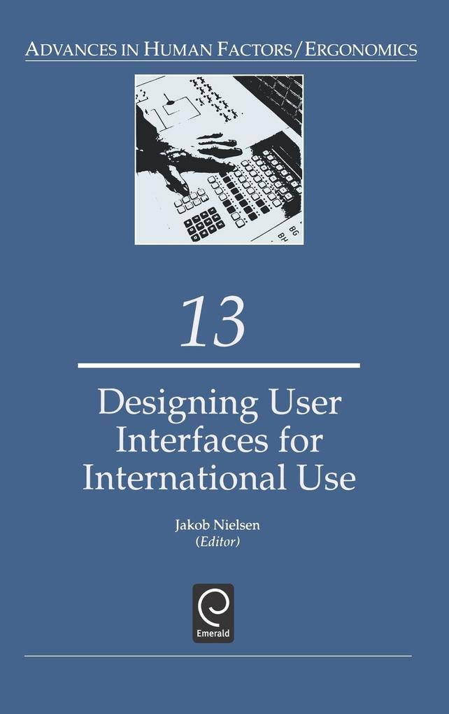 Designing User Interfaces for International Use als Buch