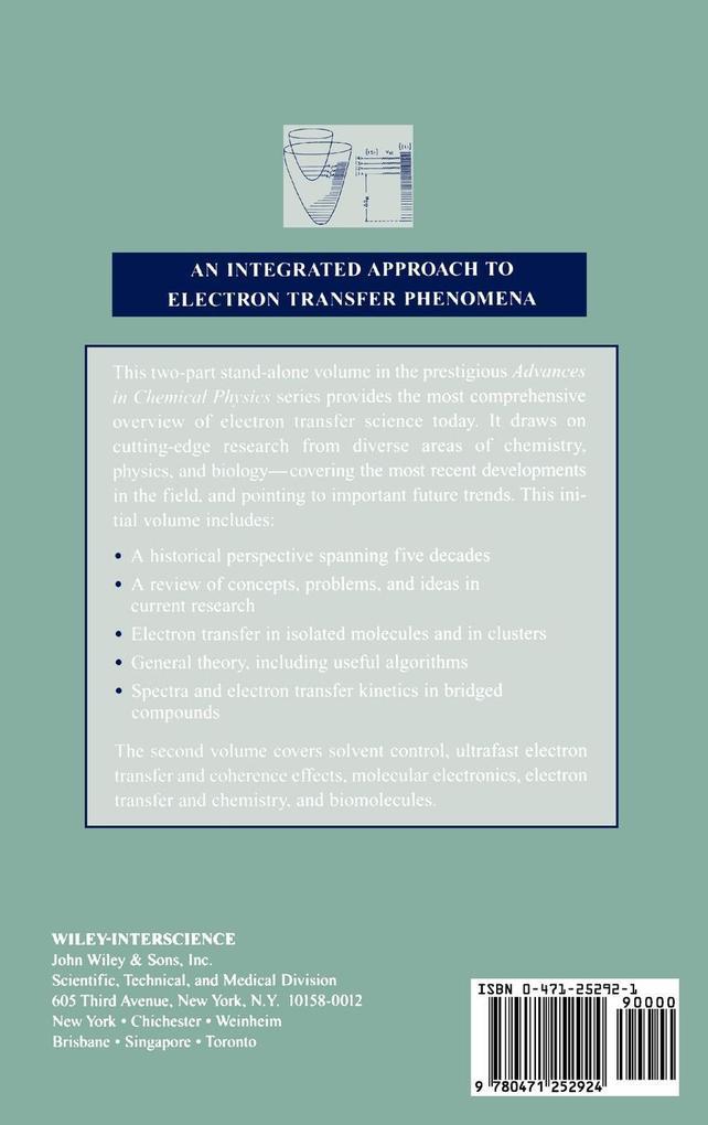 Advances Chem Physics V106 (Part 1) als Buch