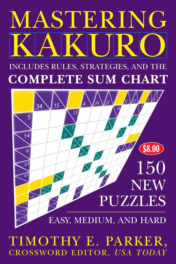 Mastering Kakuro als Taschenbuch
