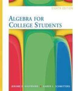 Algebra for College Students (with Interactive Video Skillbuilder CD-ROM and iLrn (TM) Student Tutorial Printed Access Card) als Buch