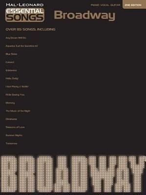 Essential Songs: Broadway als Taschenbuch