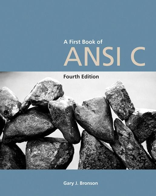 A First Book of ANSI C, Fourth Edition als Taschenbuch