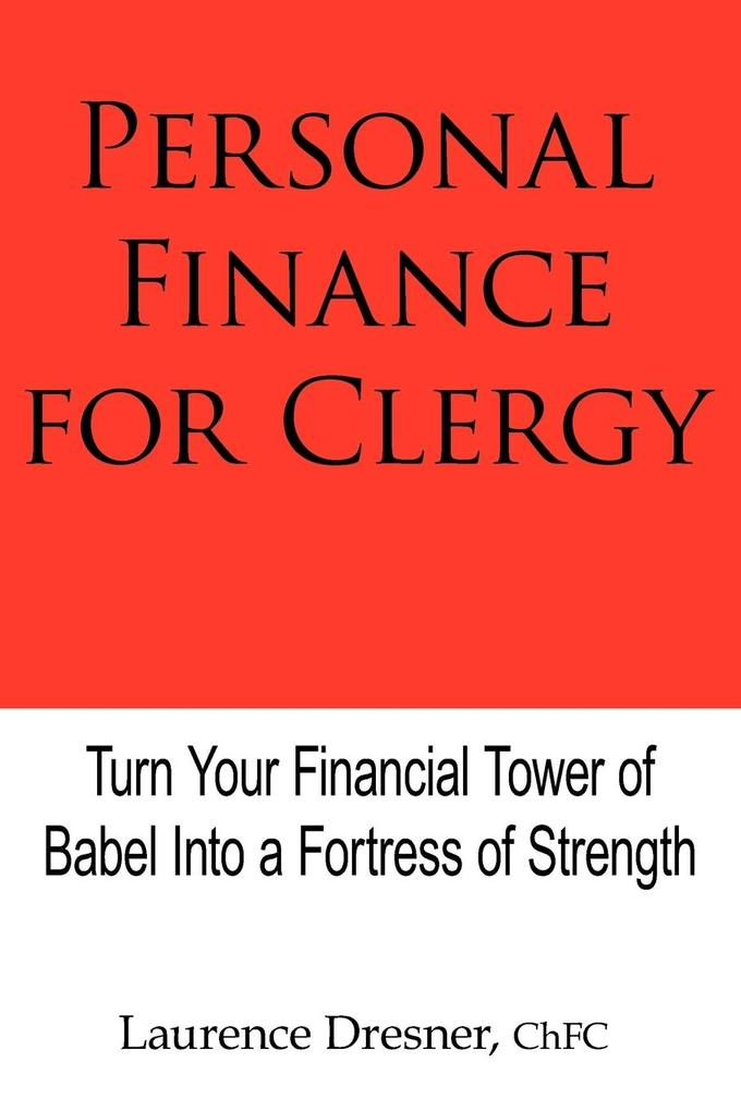 Personal Finance for Clergy als Taschenbuch
