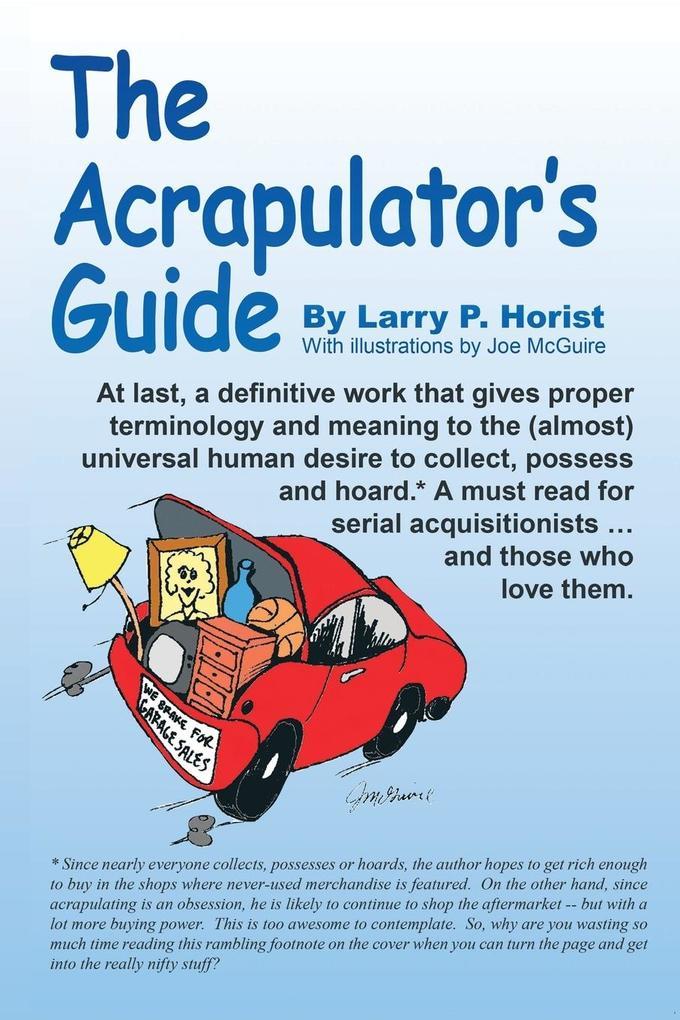 The Acrapulator's Guide als Taschenbuch