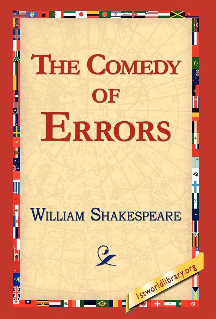 The Comedy of Errors als Buch