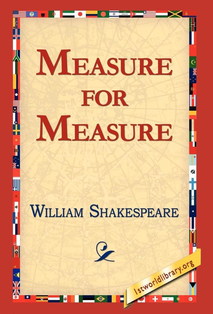Measure for Measure als Buch