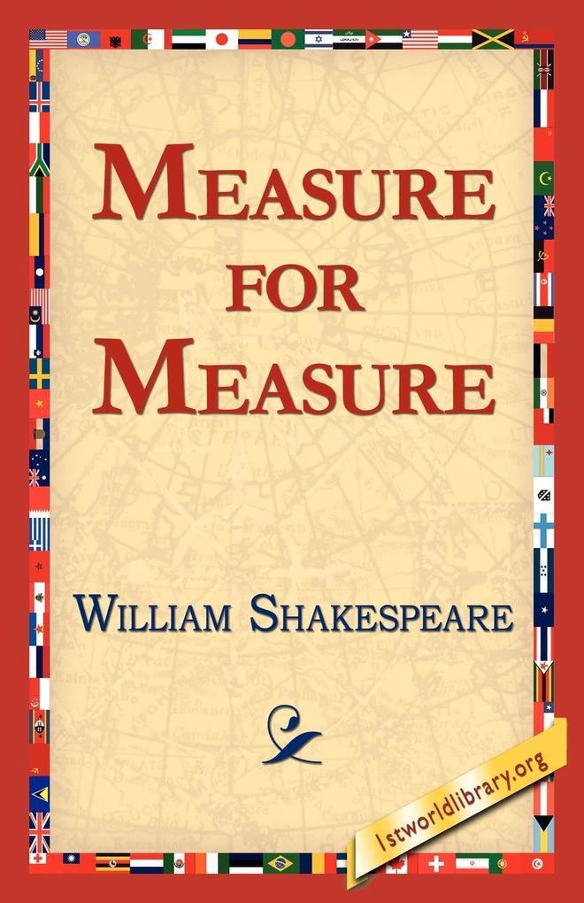 Measure for Measure als Taschenbuch