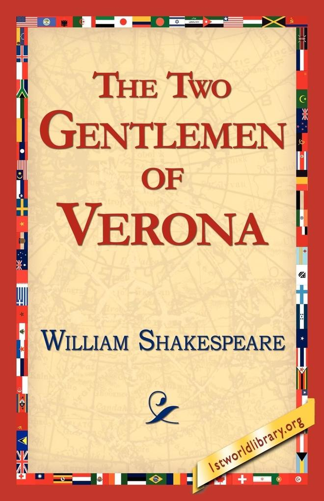 The Two Gentlemen of Verona als Taschenbuch