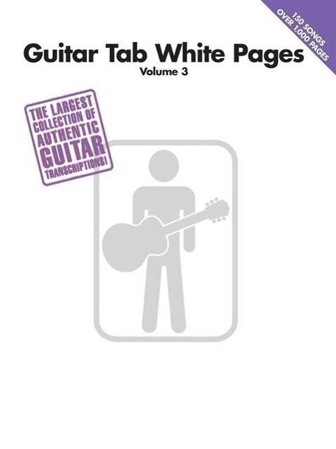 Guitar Tab White Pages Volume 3 als Taschenbuch