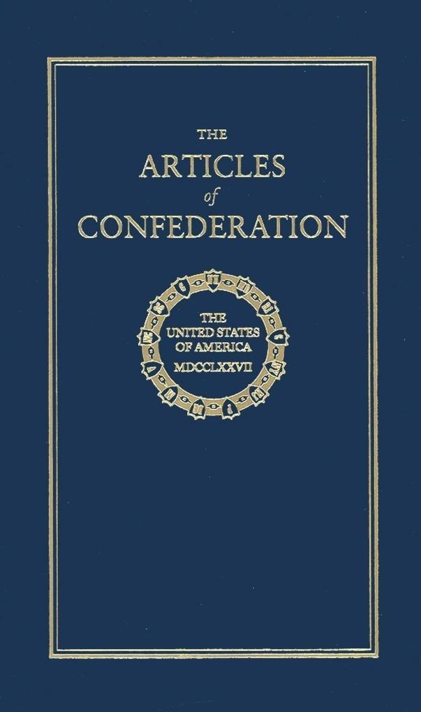 The Articles of Confederation als Buch