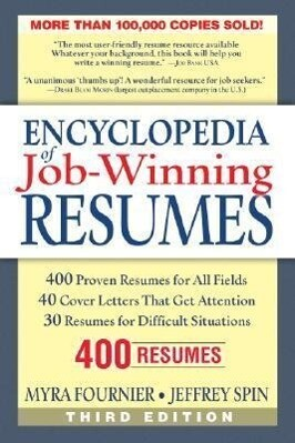 Encyclopedia of Job-Winning Resumes als Taschenbuch