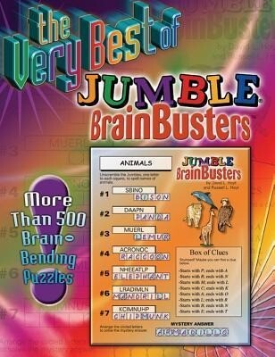 The Very Best of Jumble Brainbusters: More Than 500 Brain-Bending Puzzles als Taschenbuch
