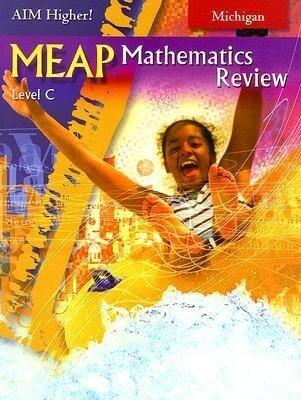 MEAP Mathematics Review Level C, Michigan als Taschenbuch