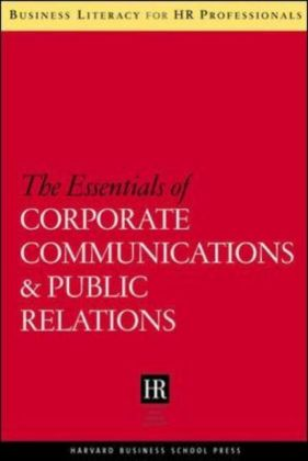 Essentials of Corporate Communications and Public Relations als Buch