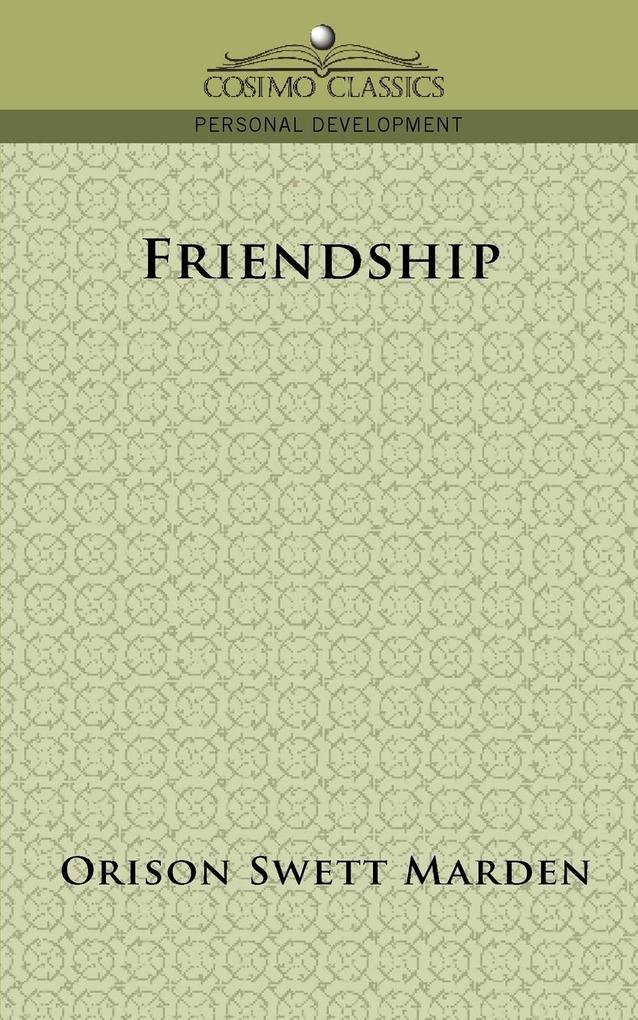 Friendship als Taschenbuch