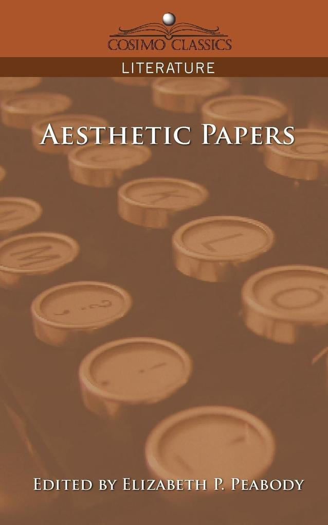 Aesthetic Papers als Taschenbuch