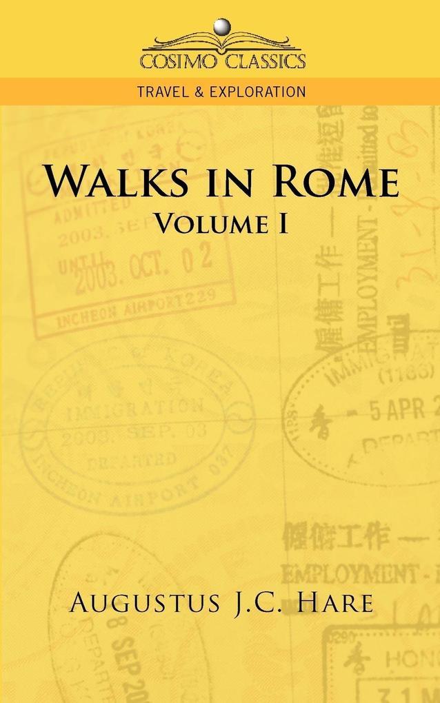 Walks in Rome als Taschenbuch