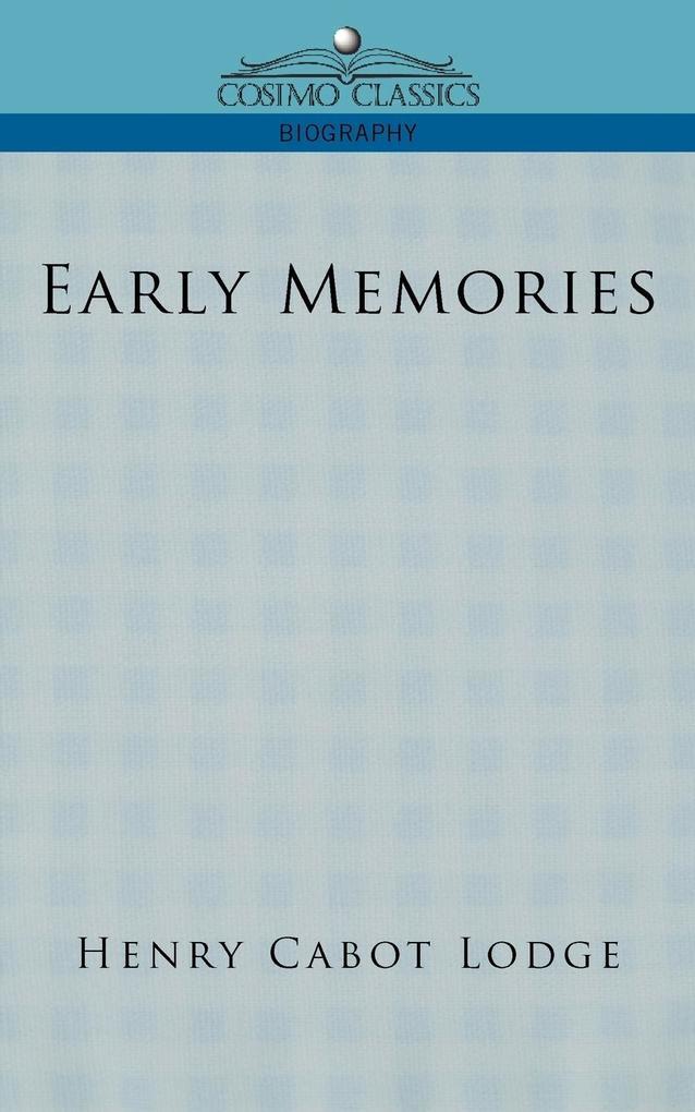 Early Memories als Taschenbuch