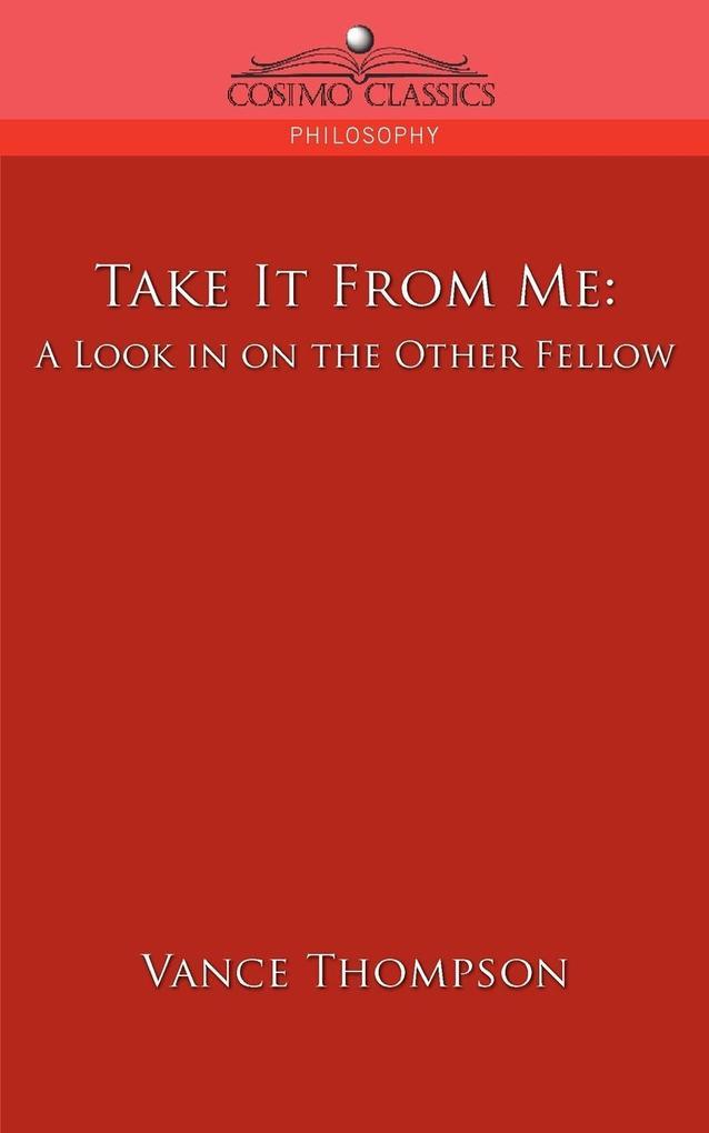 Take It from Me als Taschenbuch