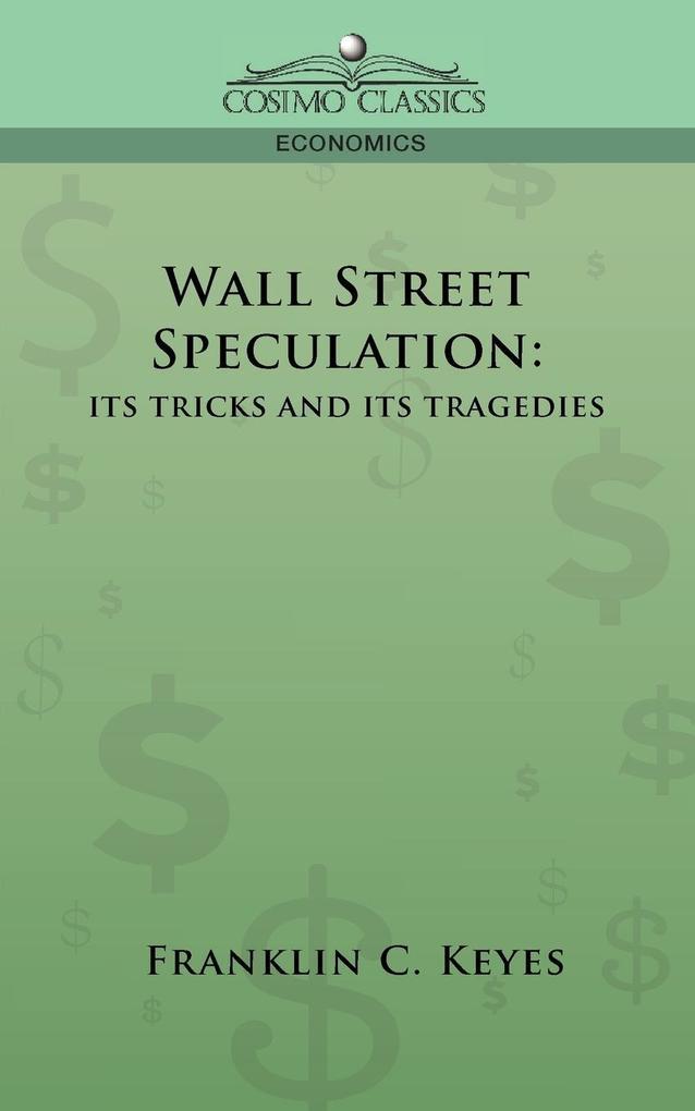 Wall Street Speculation als Buch