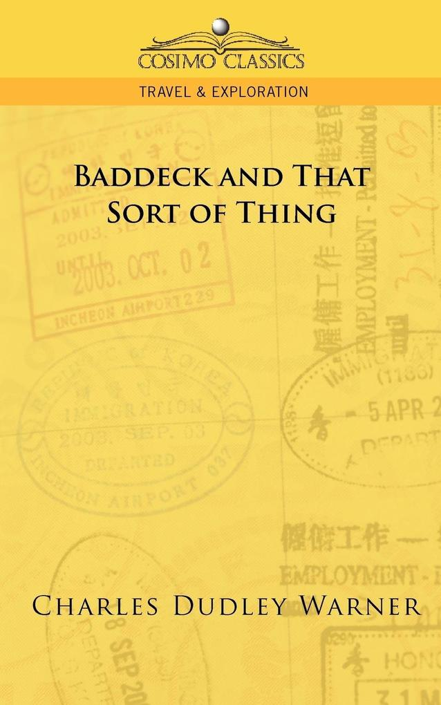 Baddeck and That Sort of Thing als Taschenbuch