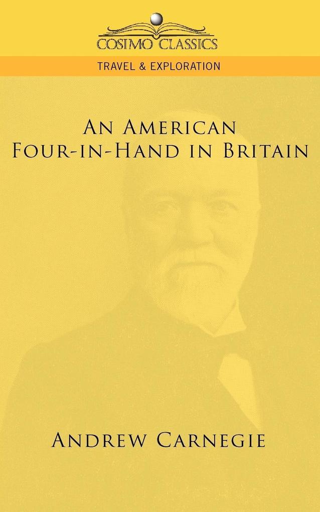 An American Four-In-Hand in Britain als Taschenbuch