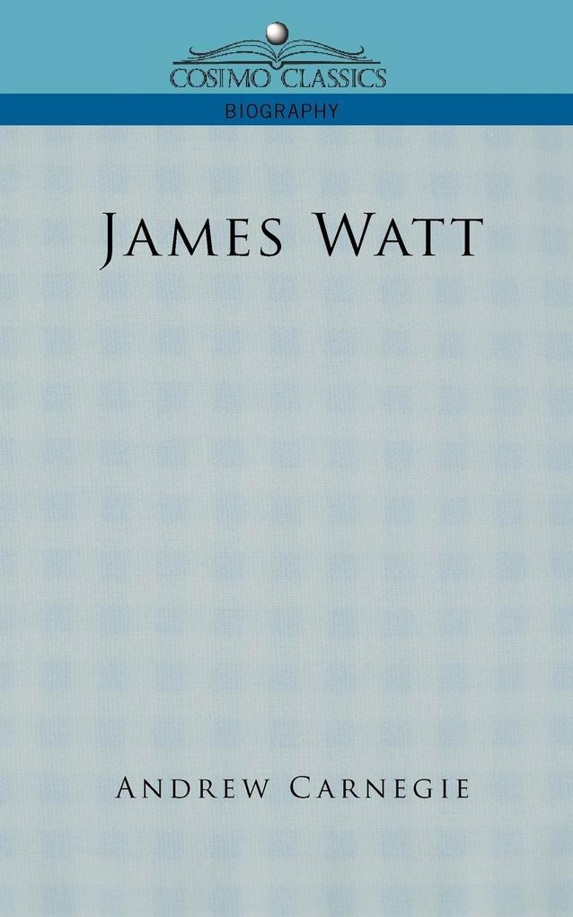 James Watt als Taschenbuch
