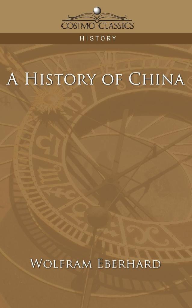 A History of China als Taschenbuch