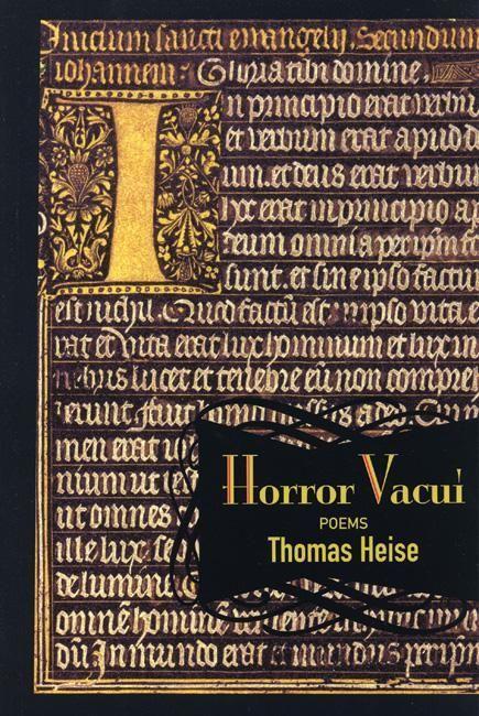 Horror Vacui: Poems als Taschenbuch