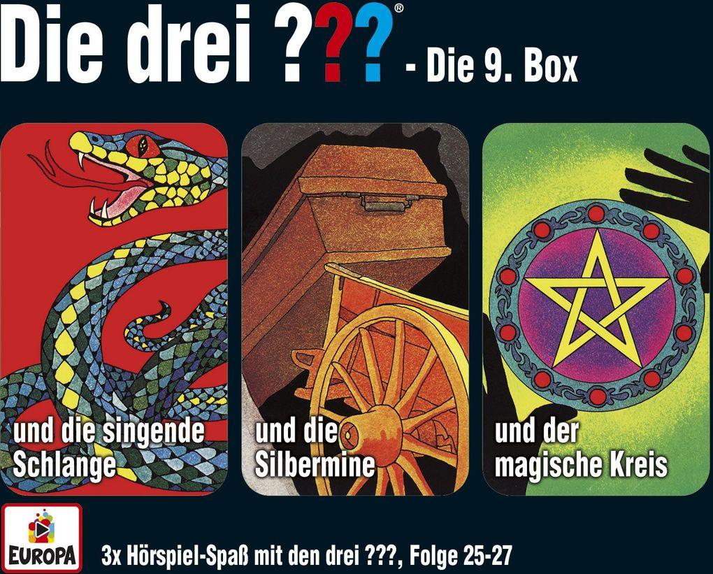 Die drei ??? Box 09. Folgen 25-27 (drei Fragezeichen) 3 CDs als Hörbuch