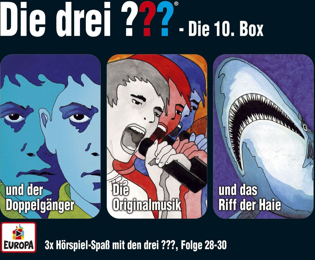 Die drei ??? Box 10. Folgen 28-30 (drei Fragezeichen) 3 CDs als Hörbuch