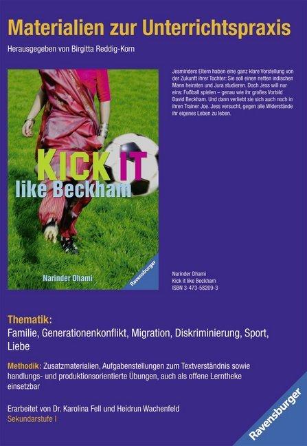 Narinder Dhami 'Kick it like Beckham' als Buch