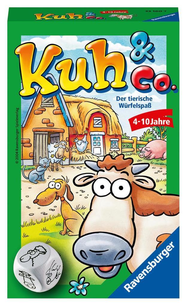 Ravensburger Spiel - Mitbringspiel Kuh und Co. als Spielwaren