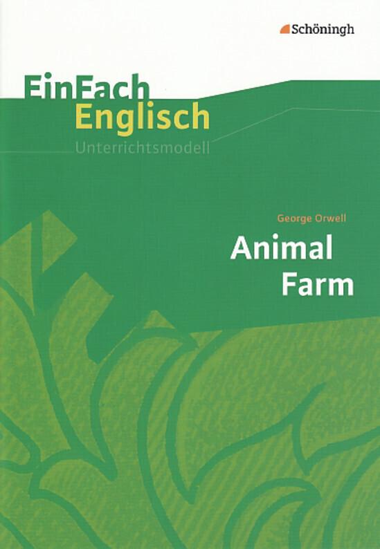 George Orwell: Animal Farm als Buch