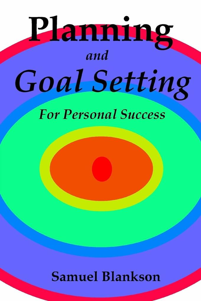 Planning and Goal Setting for Personal Success als Taschenbuch