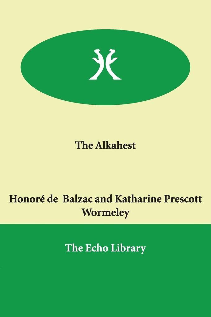 The Alkahest als Buch