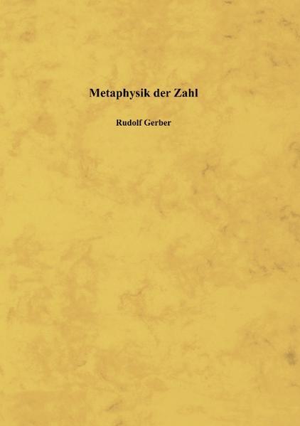 Metaphysik der Zahl als Buch