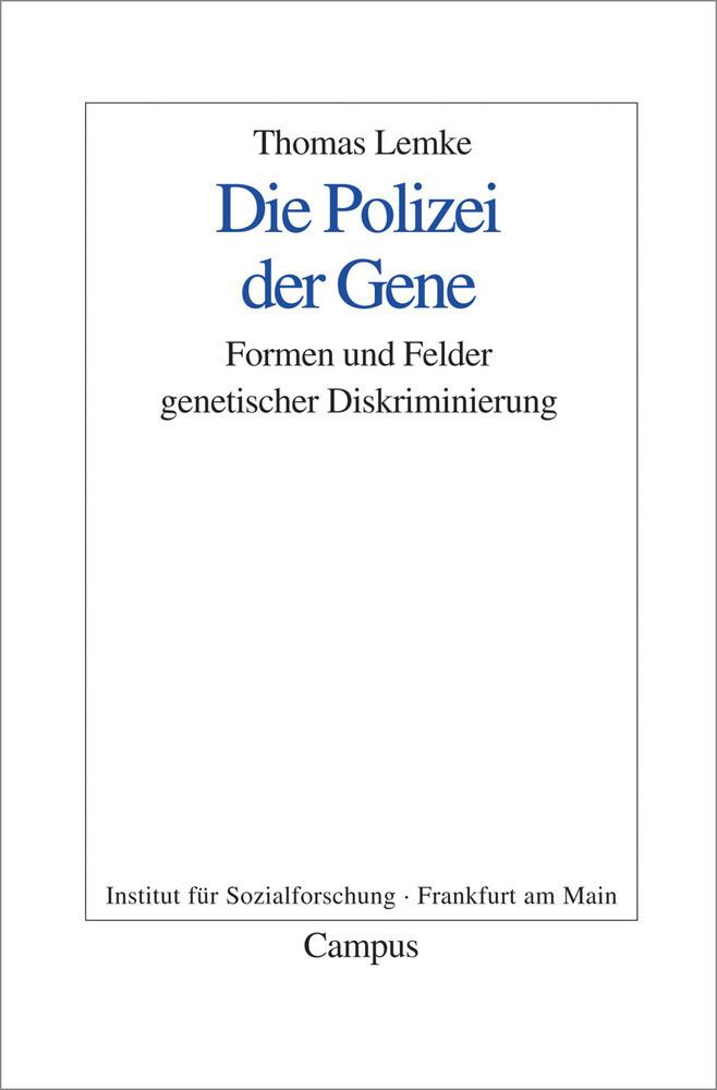 Die Polizei der Gene als Buch