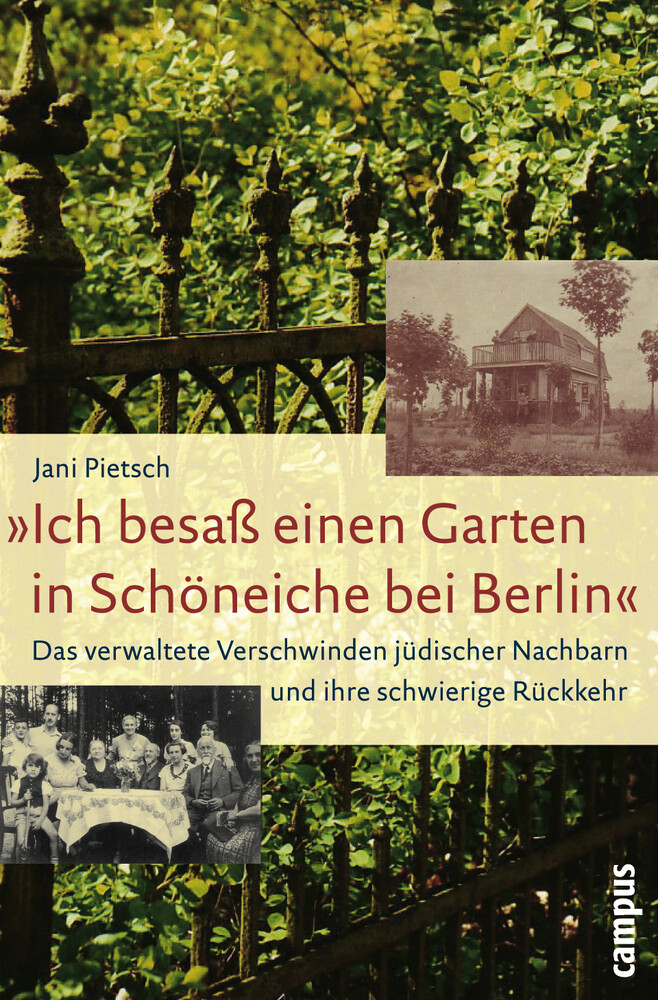 »Ich besaß einen Garten in Schöneiche bei Berlin« als Buch