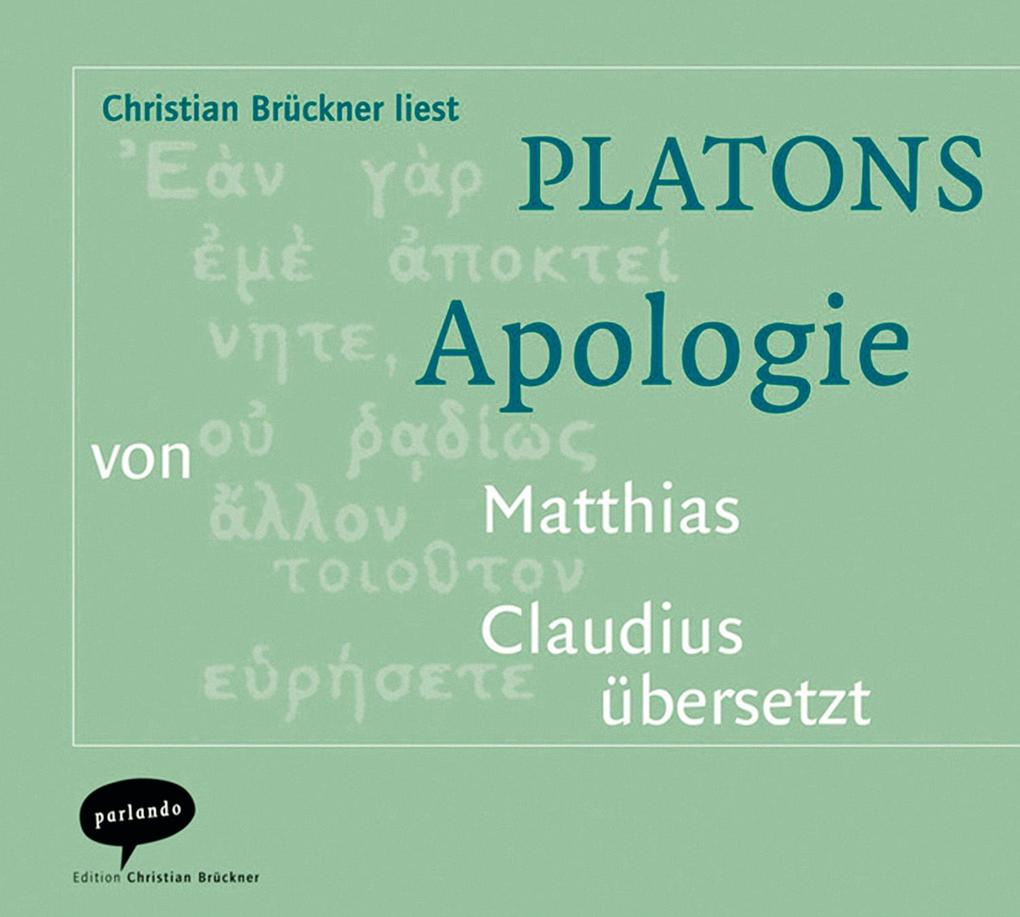 Platons Apologie. CD als Hörbuch