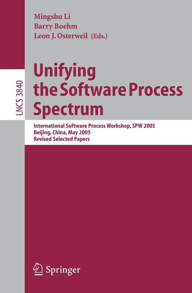 Unifiying the Software Process Spectrum als Buch