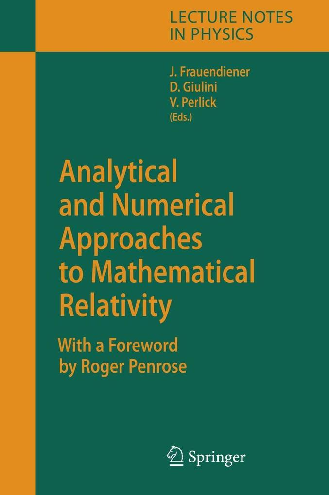 Analytical and Numerical Approaches to Mathematical Relativity als Buch