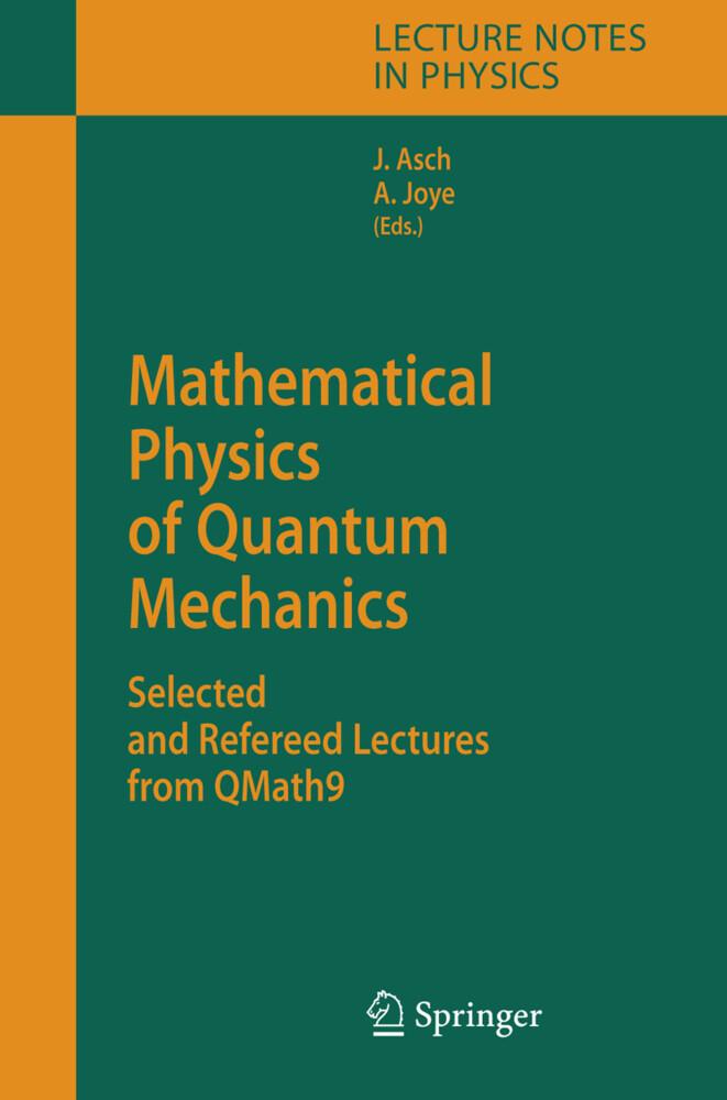 Mathematical Physics of Quantum Mechanics als Buch