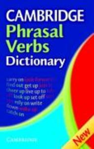 Cambridge Phrasal Verbs Dictionary als Taschenbuch